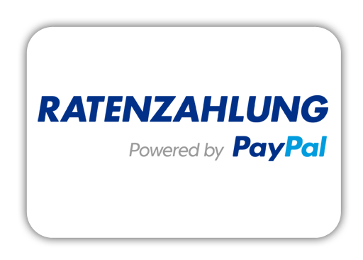 Bezahlung per Ratenkauf powered by Paypal